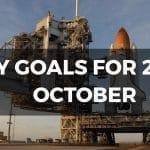 Goals October 2017