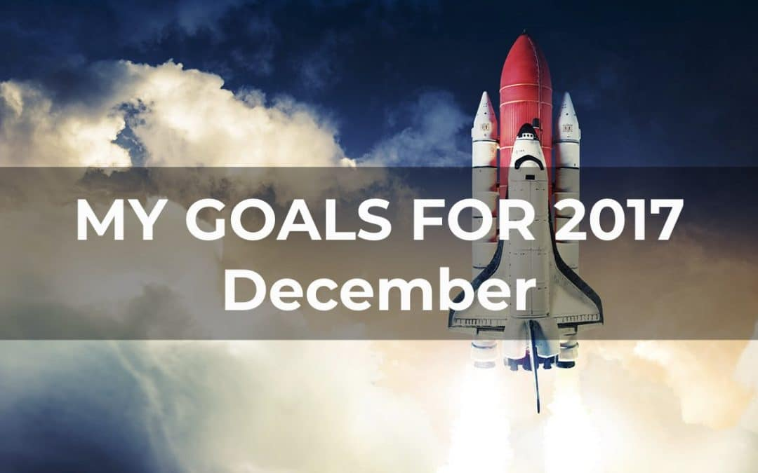 My Goals For 2017 – December