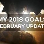 My goals 2018 February