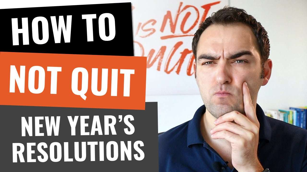 How to not quit your new year's resolutions
