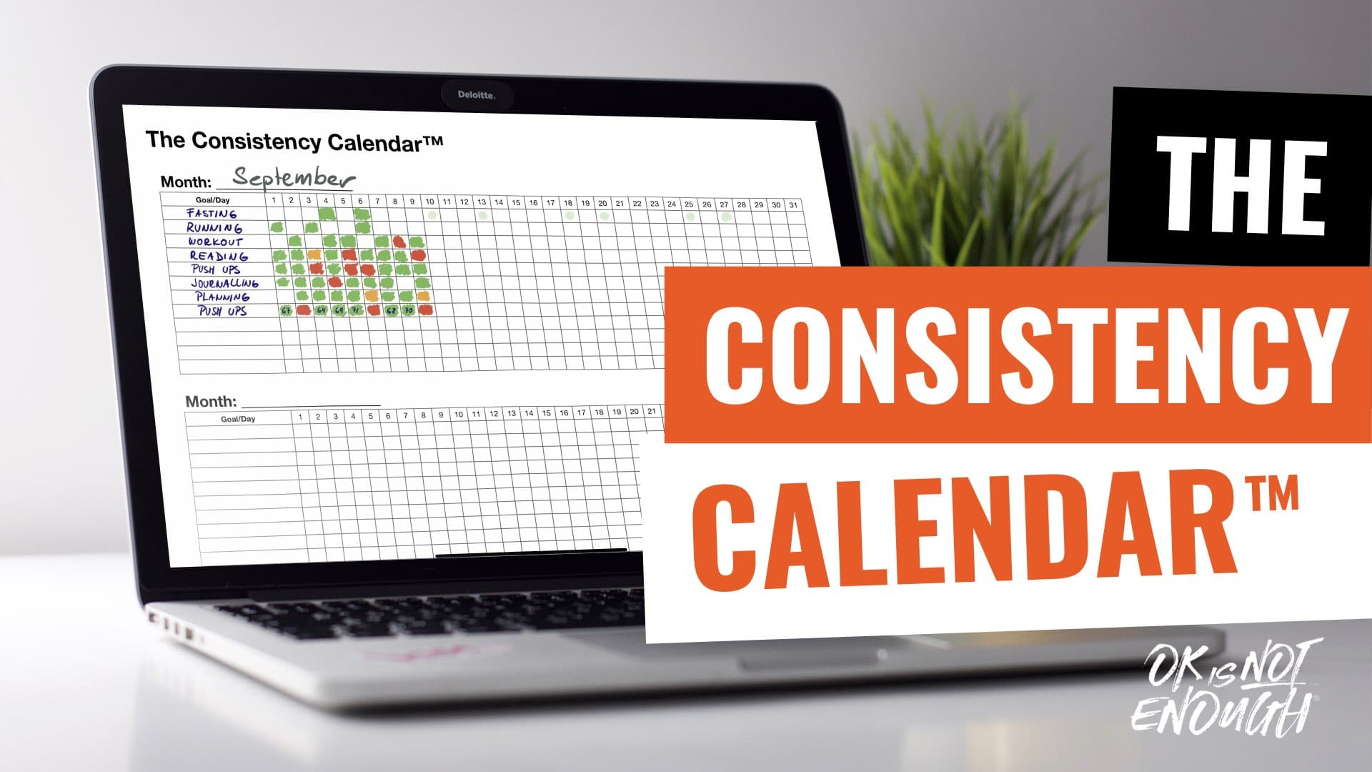 Have You Tried The Consistency Calendar?