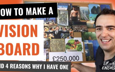 How To Make a Vision Board And 4 Reasons Why I Have One (Without The Law of Attraction)
