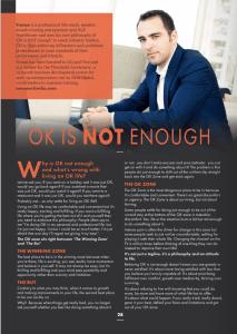 Life coach magazine Tomas Svitorka feature