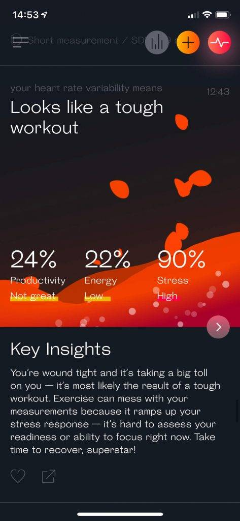 Boost Your Performance with Science - How I use Welltory to Maximise My Productivity. Welltory bad day