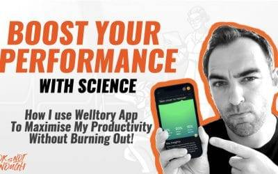 Boost Your Performance with Science – How I use Welltory to Maximise My Productivity.